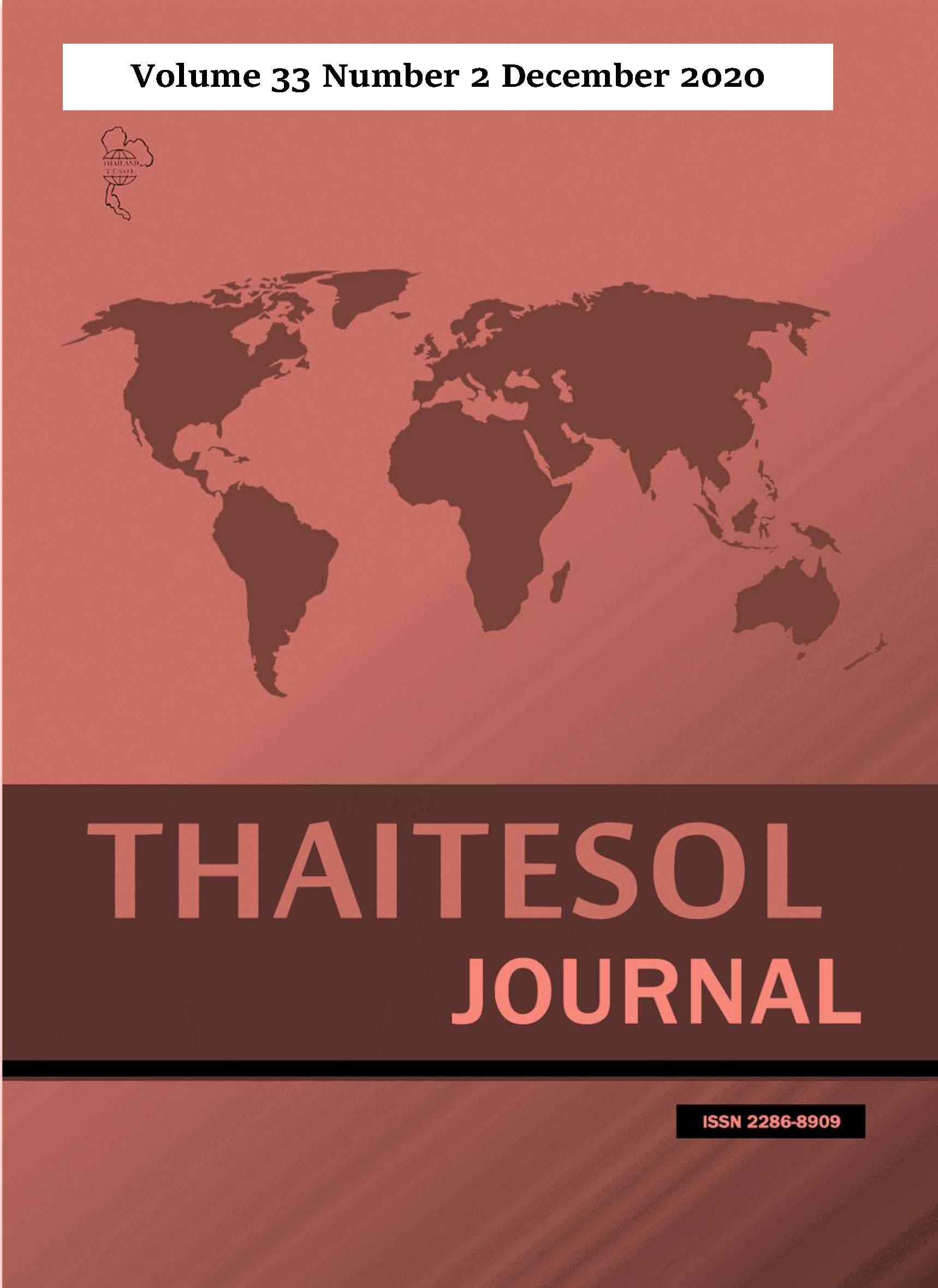 THAITESOL Journal 33-2