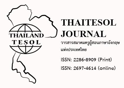 THAITESOL Journal